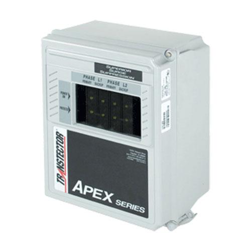 Ac Surge Protector Spd Apex Panel 127 220 Vac 3 Phase Wye Sasd 10 Ka